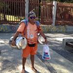 2 keg beer tap Ipanema Beach Rio de Janeiro, Brazil