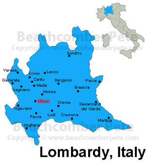 Lombardy Italy Travel Information Beachcomber Pete Travel Adventures