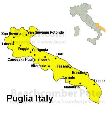 Puglia Italy Travel Information Beachcomber Pete Travel Adventures