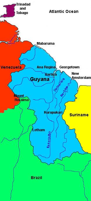 GuyanaBeachcomber Pete Travel Adventures