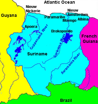 Suriname travel information travel guide beachcomber pete travel country in south america suriname is the smallest country on the continent of south america neighbors to the west are guyana to the south brazil and publicscrutiny Gallery