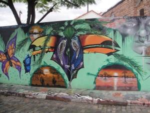 Street Graffiti, Vila Madalena, Sao Paulo, Brazil