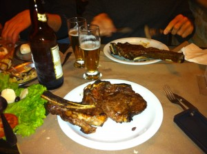 Nice 12 Dollar Steak in Sao Paulo Brazil