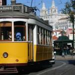 Number 28 Tram Lisbon Portugal