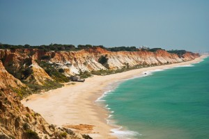 Quiet Beach Algarve Portugal