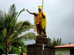 Statue of King Kamehameha the Great, Hawaii