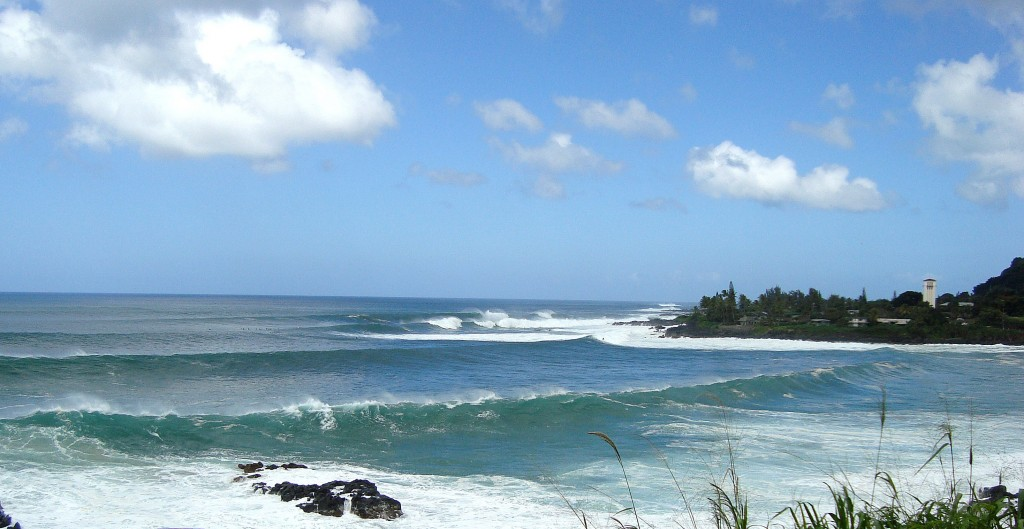 Winter Waves at Waimea, Hawaii