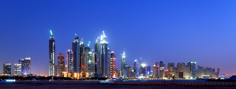 Twilight Dubai United Arab Emirates