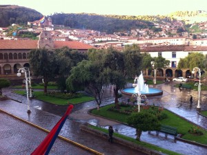 Plaza Regocijo (Happy Park) Cusco Peru