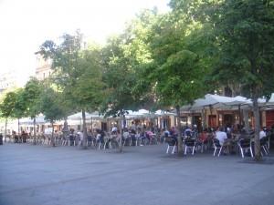Plaza Santa Ana, Madrid Spain