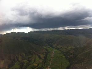 Rolling Hills Peruvin Andes