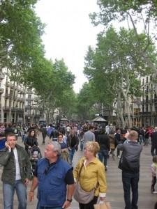 La Rambla, Barcelona Spain