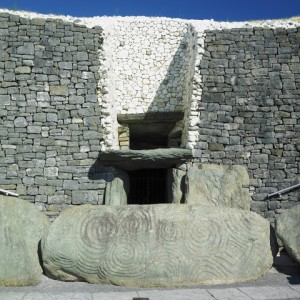 Newgrange Tomb Entrance