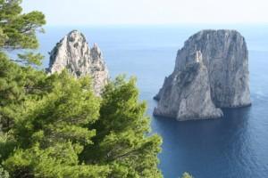 Rock Faraglioni, Capri, Italy