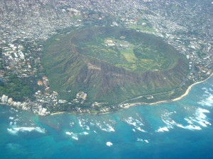 kaimana hila, Diamond Head Oahu, Hawaii