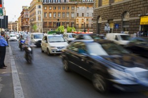 Driving in Rome