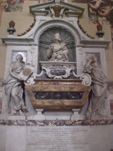 Tomb of Michelangelo, Florence Italy