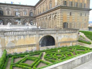 Boboli Gardens at the Palazzo, Florence Italy