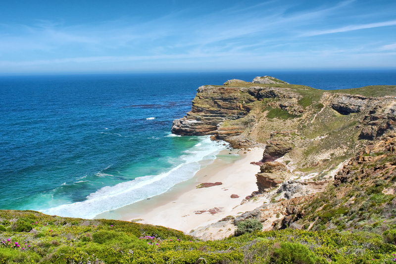 Misty Beach, Cape Point Peninsula National Park, Cape Town South Africa