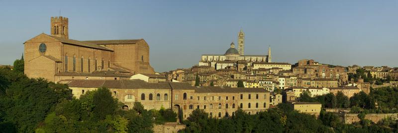 Tuscany Town of Siena, Italy