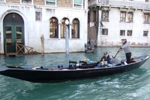 Venice gondolier, Venice, Italy