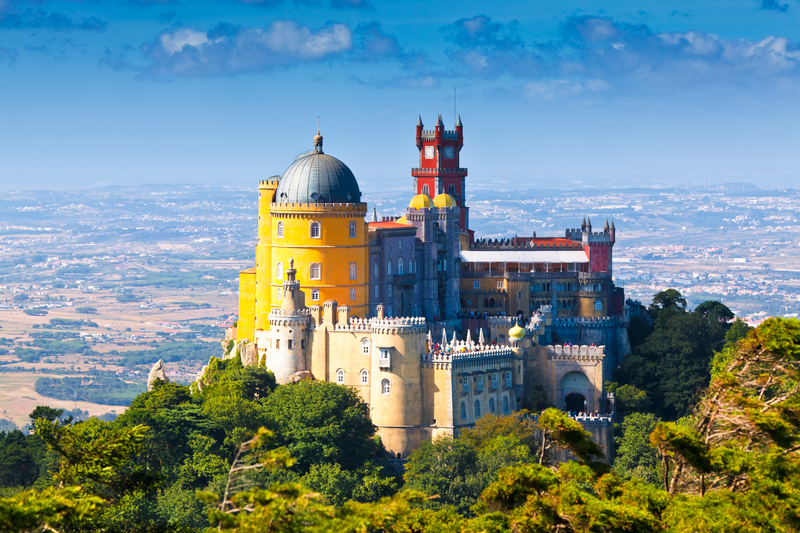 Castle's in the Sky, Sintra, Portugal