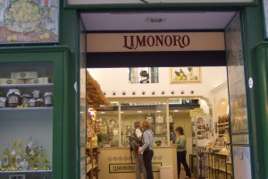 Limoncello shop in Sorrento, Italy