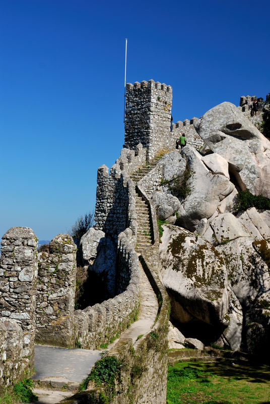 Moors Castle Walls, Sintra, Portugal