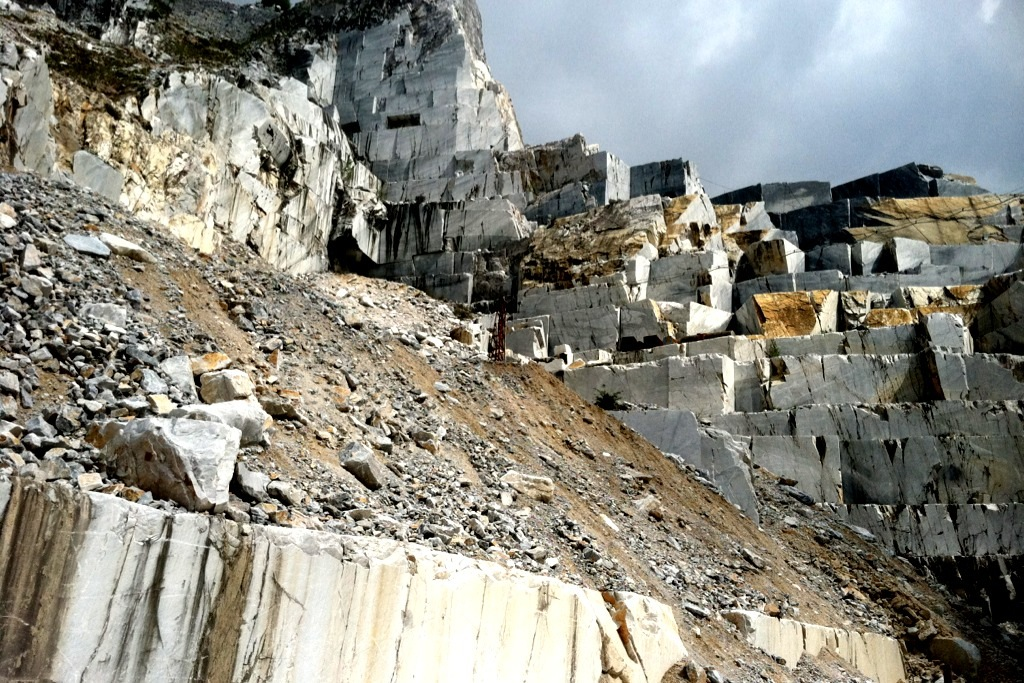 Quarries Carrara, Itlay