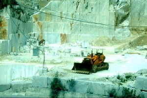The Quarries of Carrara, Italy