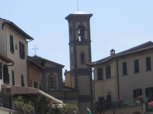 Bell Tower in Greve, Italy