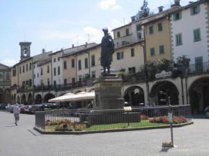 Main plaza, Greve, Chianti, Italy