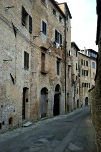 Old buildings of San Gimignano, Italy