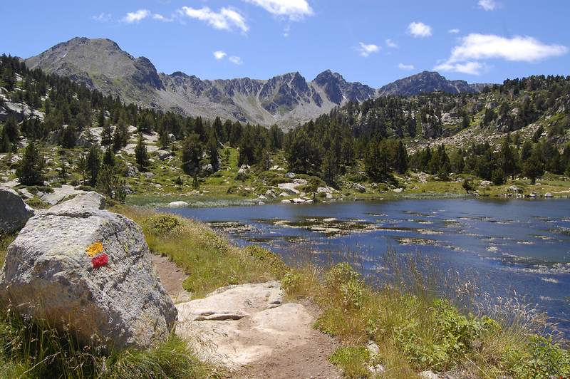 Pessons lakes in Andorra