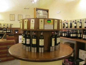 Wine for the Tasting, La Cantine di Greve in Chianti, Italy