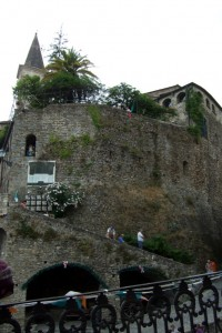 Apricale castle,Liguria, Italy