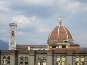 Dumo from Uffizi, Florence, Italy
