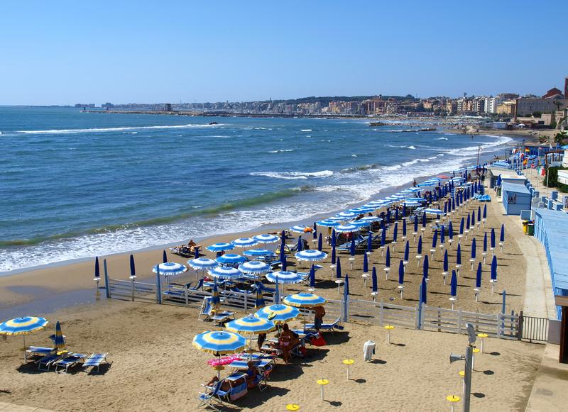 Nettuno beach, Lazio, Italy