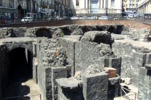 Roman Amphitheatre, Catania, Sicily, Italy