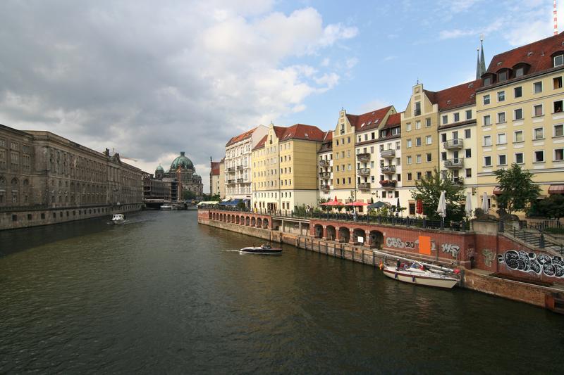 Spree River Berlin Germany
