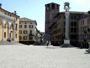 Udine Piazza della Liberta, Friuli, Italy