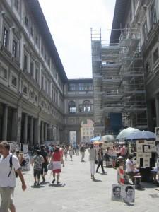Uffizi Museum, Florence Italy