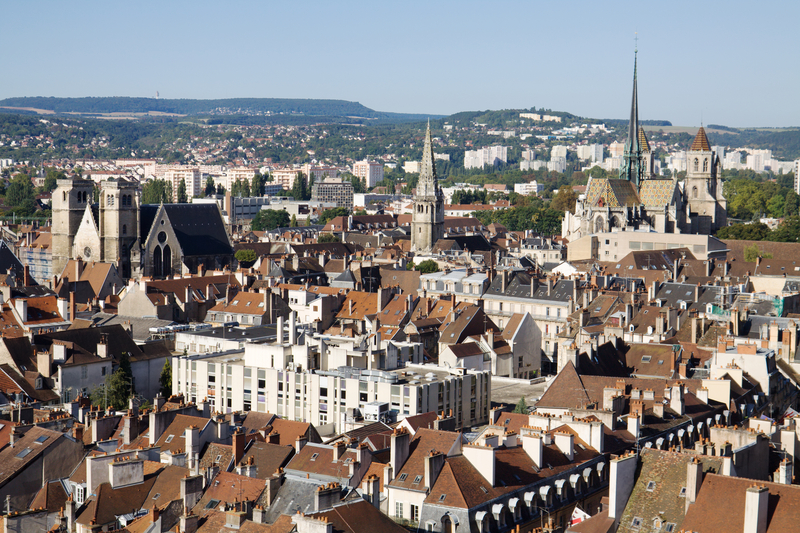 View of Dijon, France