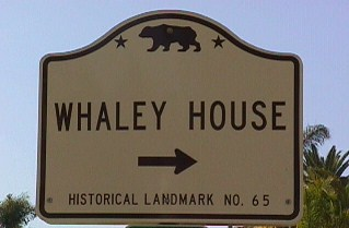 Whaley House, San Diego California