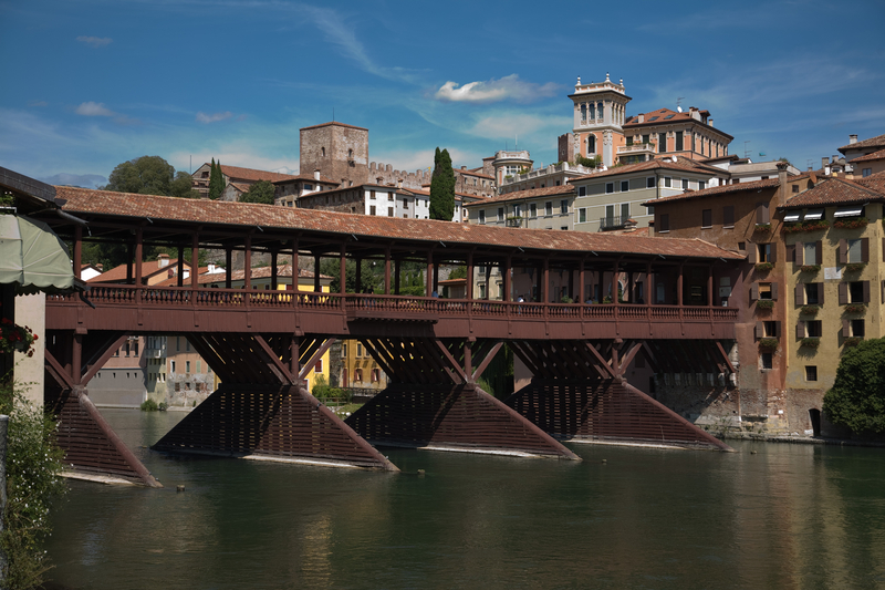 Alpini Bridge, Bassano del Grappa, Italy