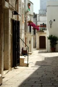 Cisternino centro storico, Puglia, Italy