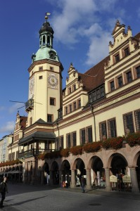 Old town hall , Altes Rathaus, Leipzig, Germany