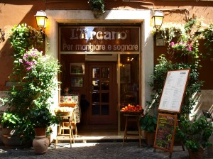 Reastaurant in Rome, Italy