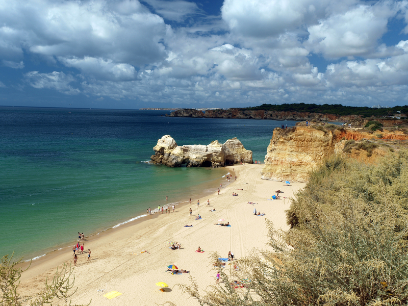 Beach of Praia da Rocha, Portimao', Portugal