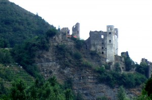 Dolceacqua Castle, Liguria, Italy